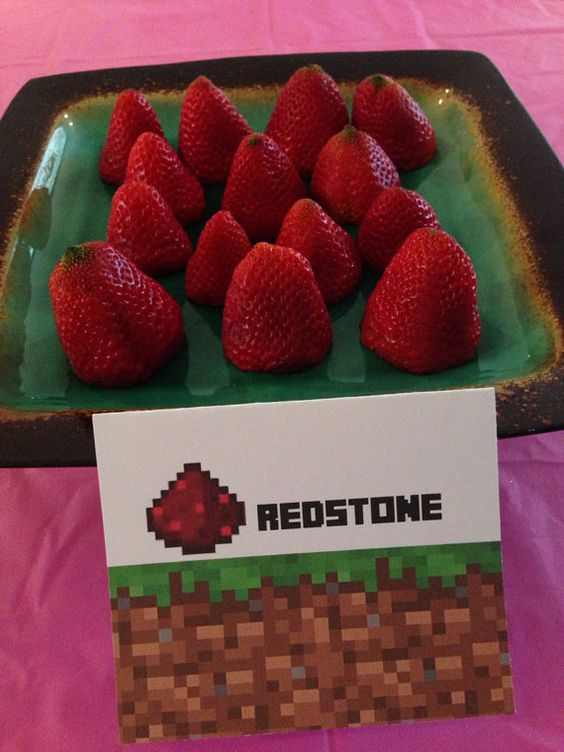27 Fun And Colorful Minecraft Party Ideas Shelterness