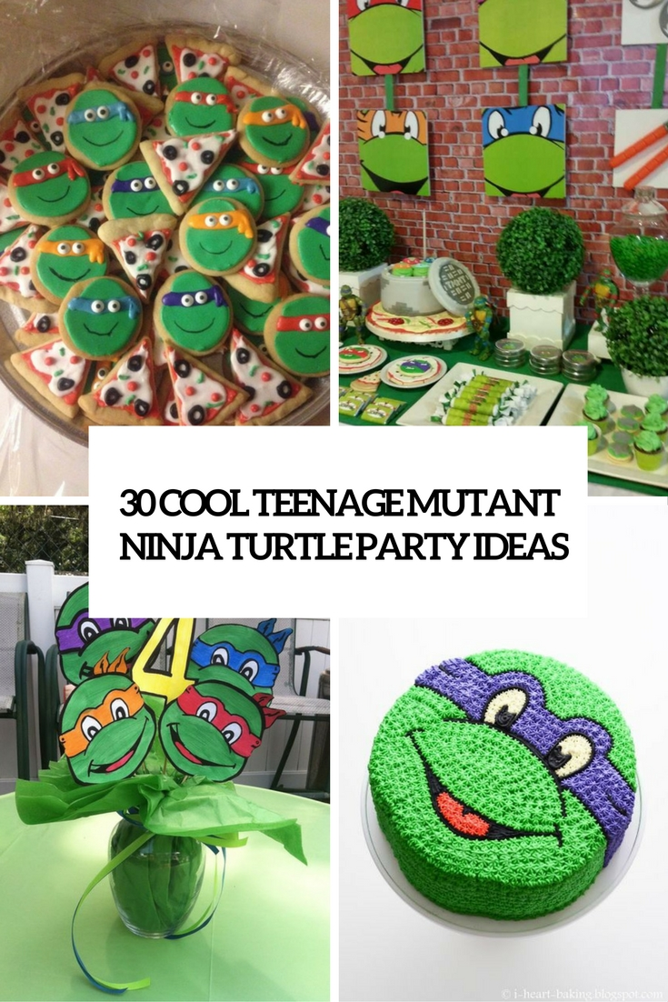The best decorating ideas for your home of october 2016 for Tmnt decorations