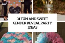 31 fun and sweet gender reveal ideas cover