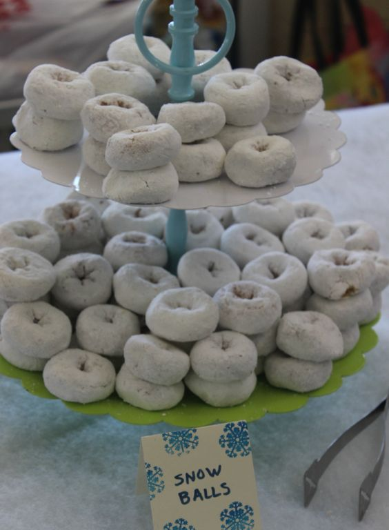snowball donuts