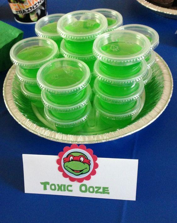 toxic ooze jellies