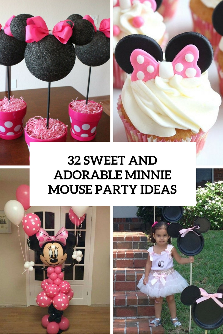 32 Sweet And Adorable Minnie Mouse Party Ideas Shelterness