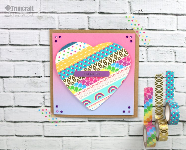 DIY washi tape cards (via www.trimcraft.co.uk)