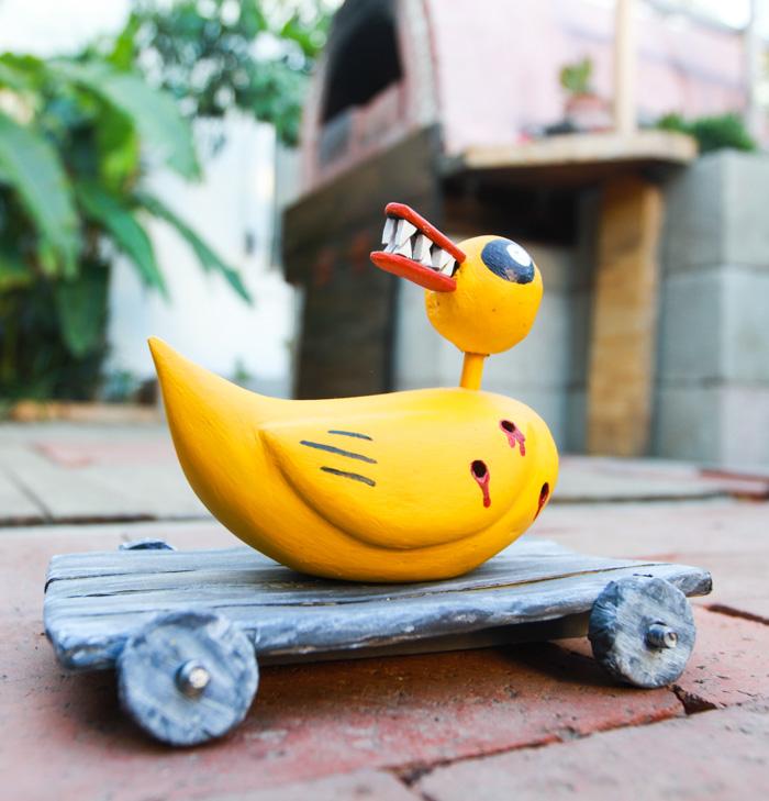 DIY Nightmare Before Christmas Duck toy (via www.surpriseaholic.com)