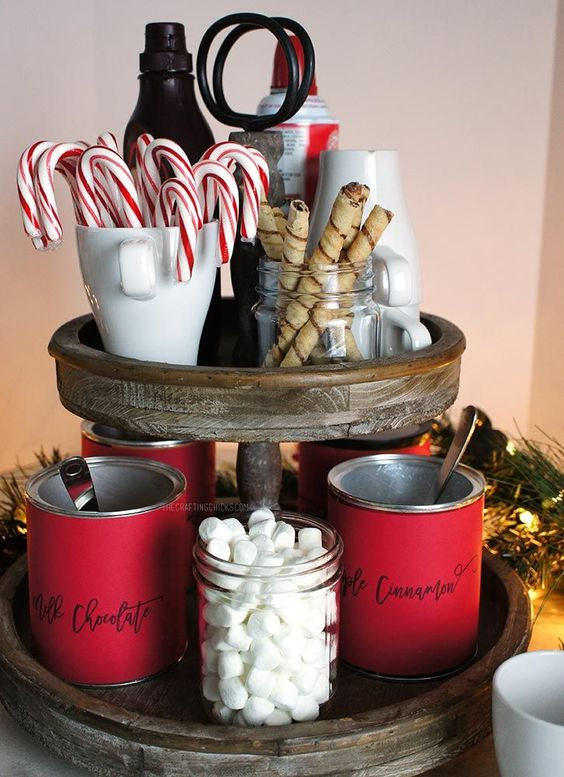 26 Cozy Christmas Kitchen D 233 Cor Ideas Shelterness