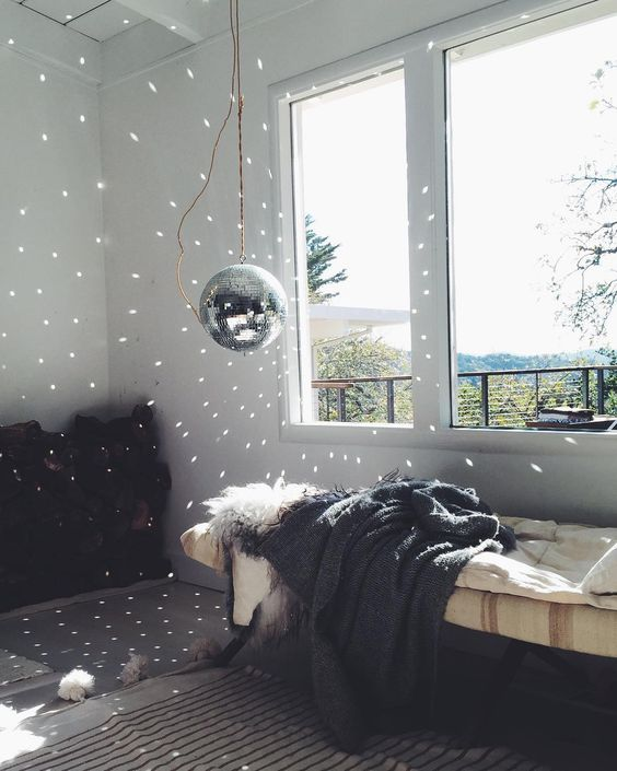 Disco Balls Decorations Endearing 21 Sparkling Disco Ball Décor Ideas For Winter Parties  Shelterness 2018
