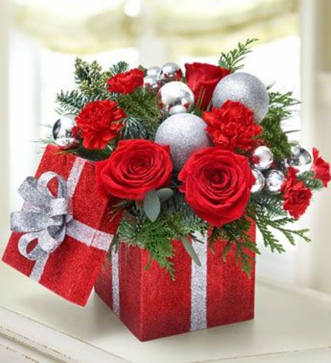 Silk and Crafts Supply | Christmas floral, Christmas ...