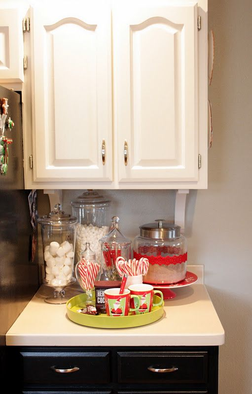 hot chocolate bar nook
