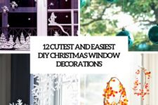 12 cutest and easiest diy christmas window decorations cover