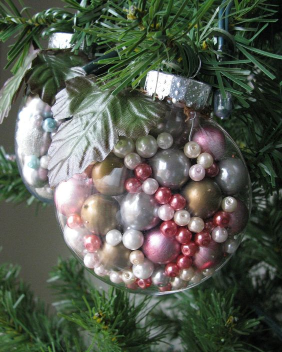 beautiful bead ornaments are pretty easy to make