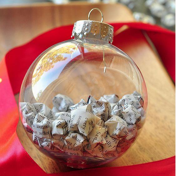 Glass Star Christmas Ornaments