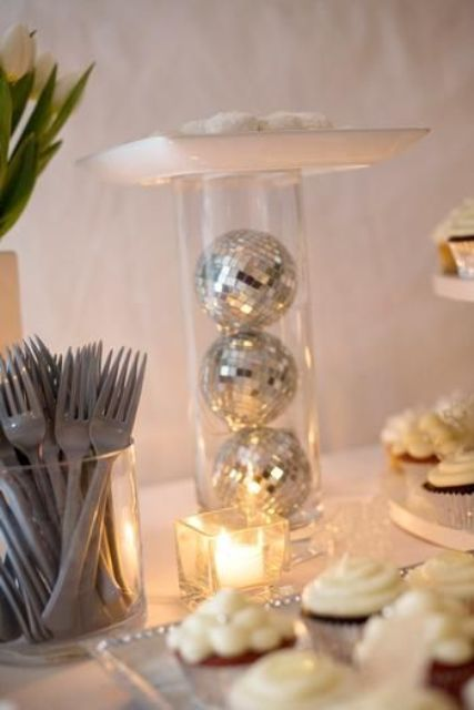 21 sparkling disco ball d u00e9cor ideas for winter parties