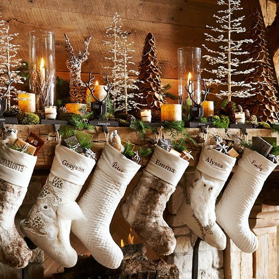 Decorating Ideas > 25 Ultimate Christmas Mantel Décor Ideas  Shelterness ~ 155036_Holiday Decorating Ideas For Large Spaces