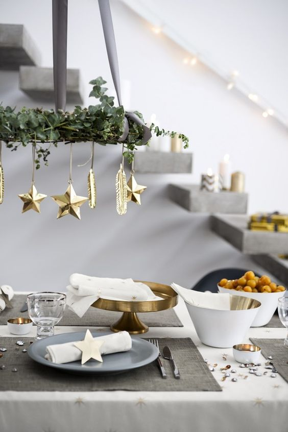 shades of grey and gold touches look amazing together, and white refreshes the look