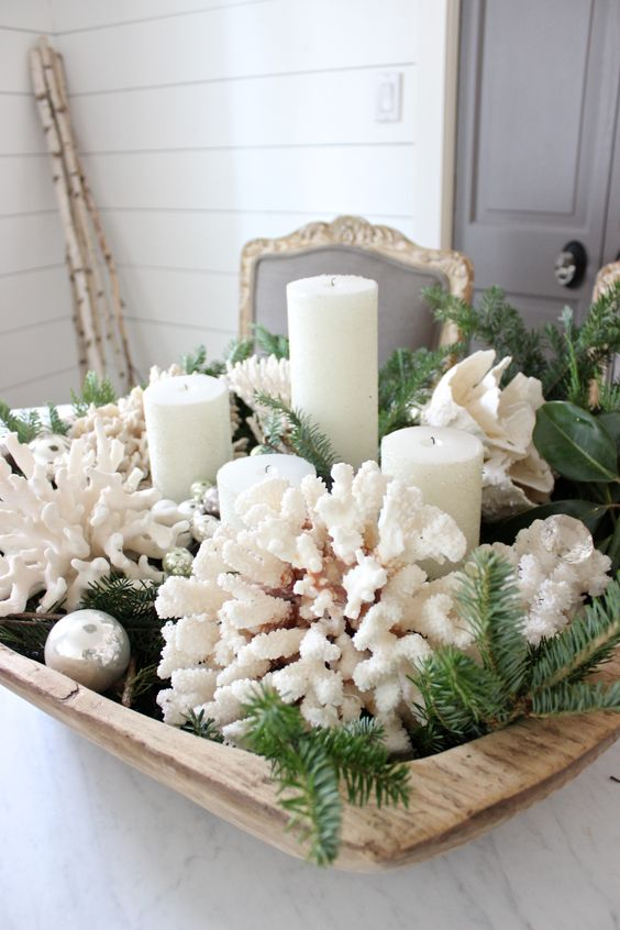 24 Creative Diy Christmas Bowl Displays Shelterness