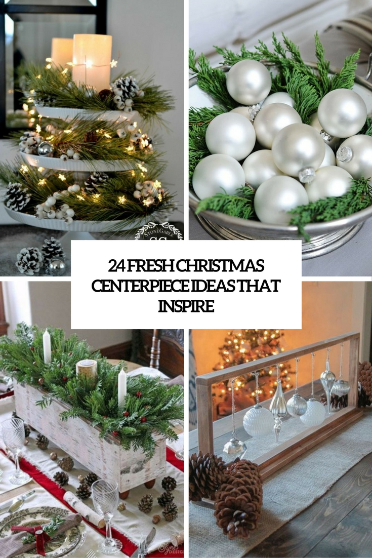 fresh christmas centerpiece ideas that inspire cover