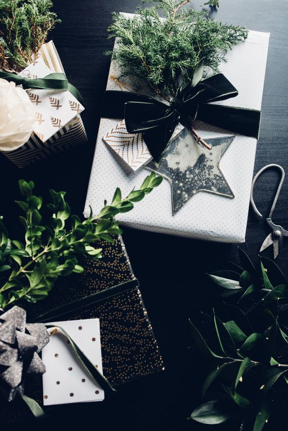 Printed Christmas Ribbon