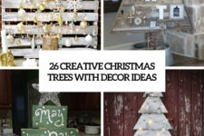 26 creative pallet christmas trees with decor ideas cover