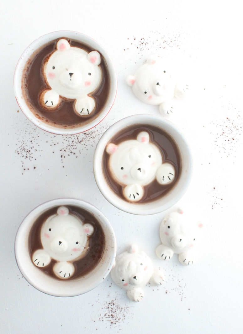 DIY marshmallow bears (via thesimple-sweetlife.com)