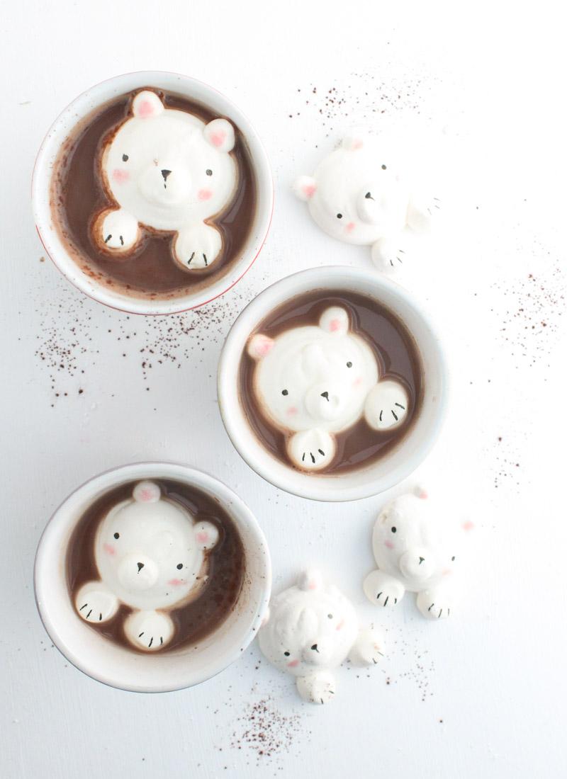 DIY marshmallow bears