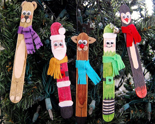 DIY popsicle stick characters for kids (via creativemeinspiredyou.com)