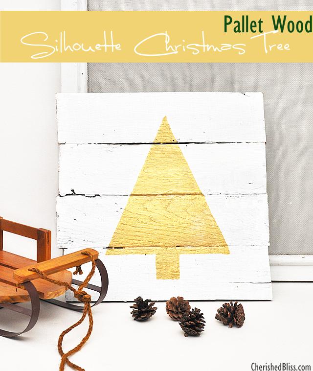 DIY pallet wood tree sign (via cherishedbliss.com)