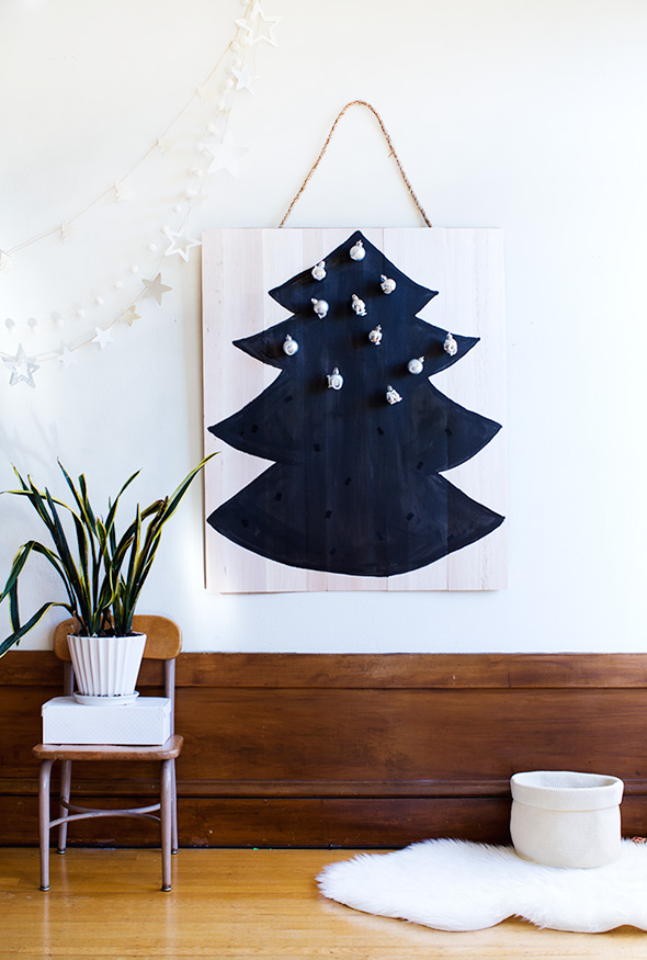 DIY balsa wood advent calendar (via sayyes.com)