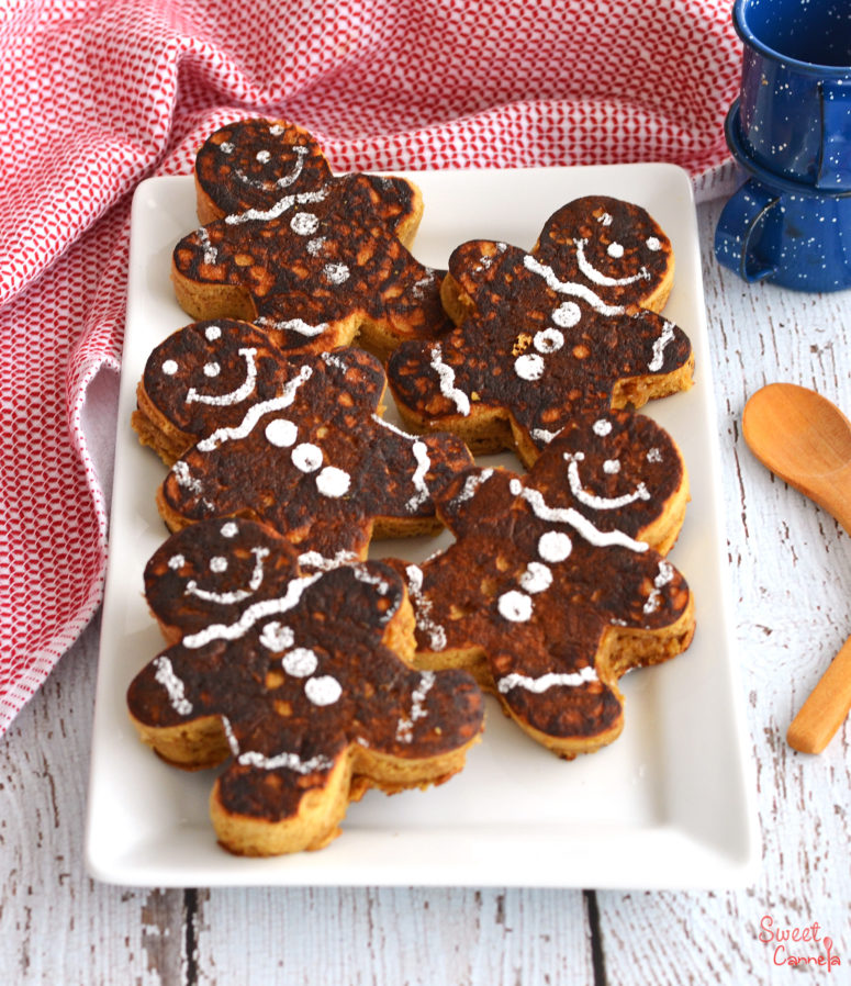 DIY gingerbread pancakes  (via www.sweetcannela.com)