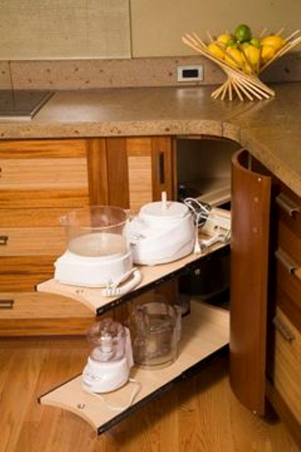 20 practical kitchen corner storage ideas shelterness. Black Bedroom Furniture Sets. Home Design Ideas
