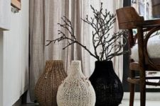 08 cover your vases with knit for winter