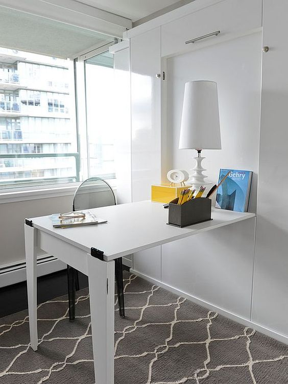 20 Hideaway Desk Ideas To Save Your Space Shelterness