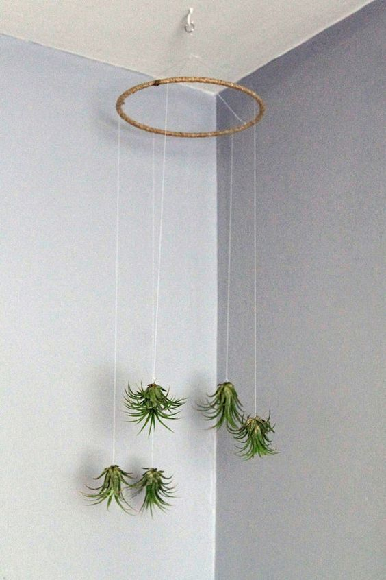 hanging mobile with a hoop