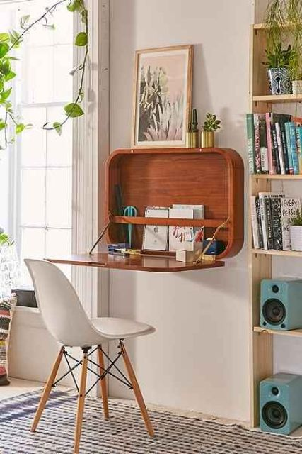 20 Hideaway Desk Ideas To Save Your Space  Shelterness. Cork Drawer Liner. Mahogany Wood Desk. Accumulation Table. Circular Reception Desk Lobby. Personalized Business Card Holder Desk. Day Bed With Drawers. Rc Desk Pilot. Mid Century Office Desk