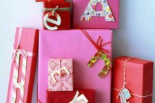 10 gift tags can be made of old Christmas cards