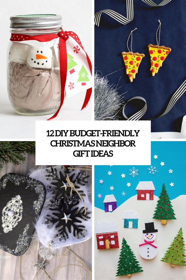 12 Budget-Friendly DIY Christmas Neighbor Gift Ideas