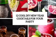 12 cool diy new year cocktails for your party cover