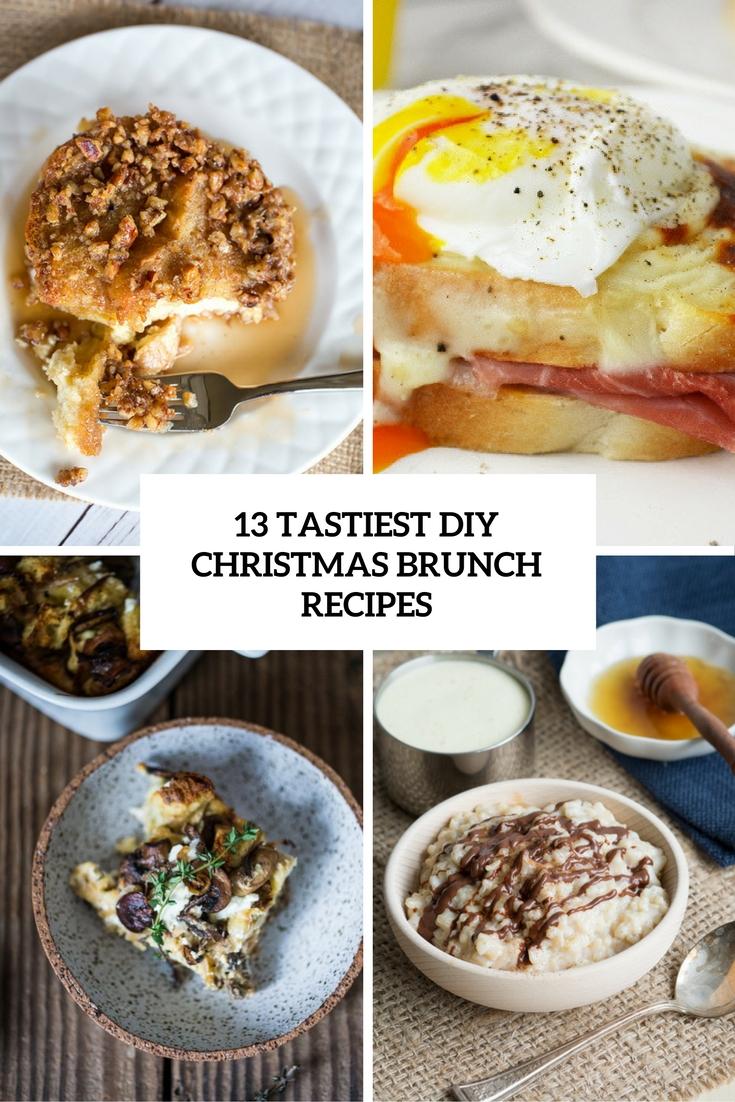 13 Tastiest DIY Christmas Brunch Recipes