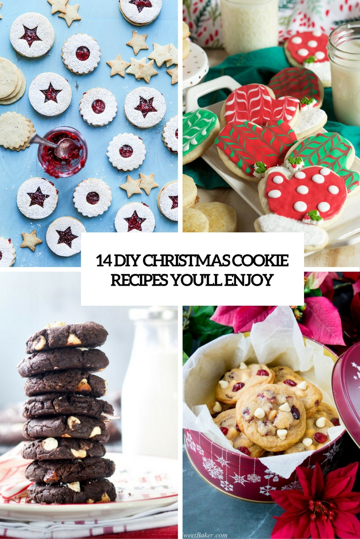 14 DIY Christmas Cookie Recipes You'll Enjoy