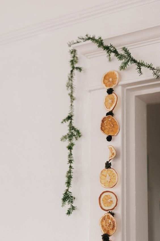 dried citrus slices garland for a gorgeous scent