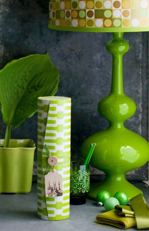 green glass lamp base and accessories