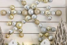 17 metallic ornament wall decor