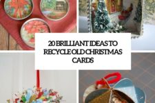 20 brilliant ideas to recycle old christmas cards cover