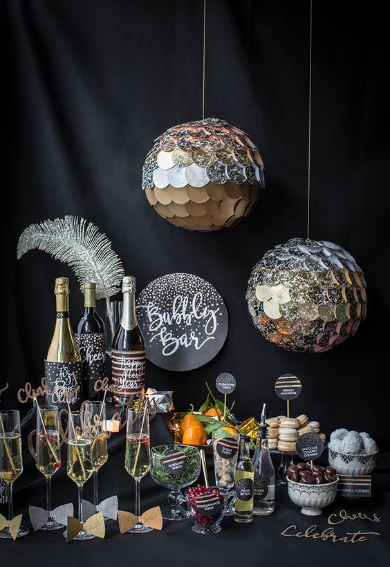 sparkling balls will spruce up any space