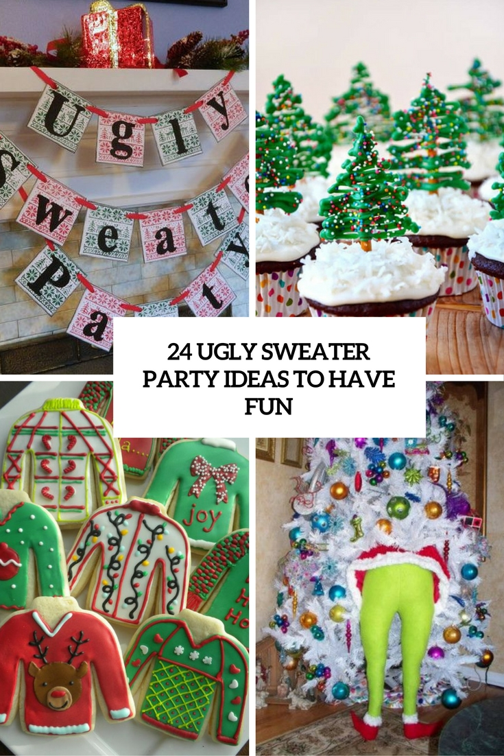 ugly sweater party ideas to have fun cover