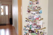 24 washi tape Christmas card tree