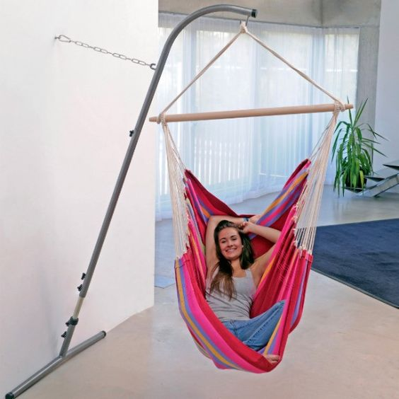 free standing hammock swing for indoors and out, perfect gift year round for any occasion