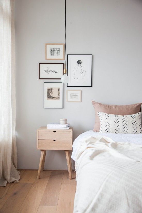 Tiny Bed 27 tiny nightstands for small bedrooms - shelterness