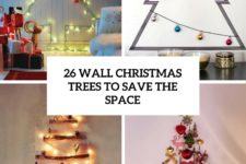 26 wall christmas trees to save the space cover