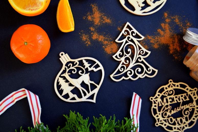 DIY scented Christmas ornaments (via www.northstory.ca)