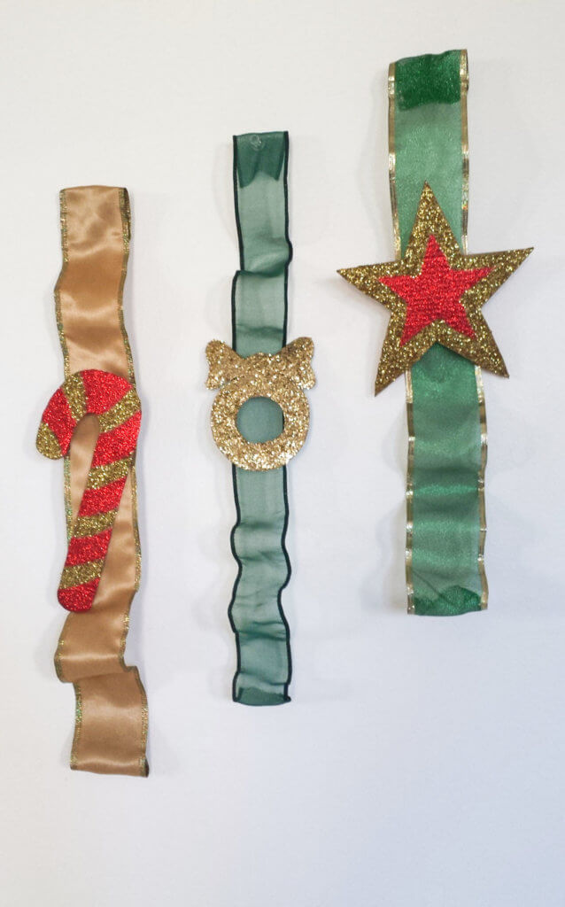 DIY Christmas ribbon ornament (via www.fancymomma.com)